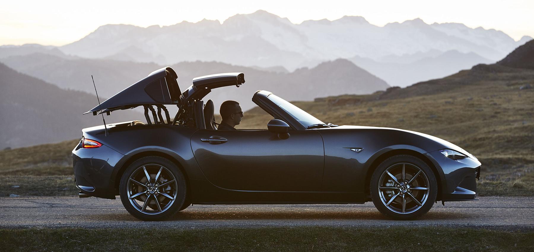 Mazda MX-5 RF   Hardtop Convertible   Mazda UK
